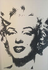 Andy Warhol Marilyn Monroe Giclee Canvas Print Paintings Poster Reproduction Cop