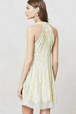 Anthropologie Ranna Gill Shimmer Channel Dress-XS-$248 MSRP