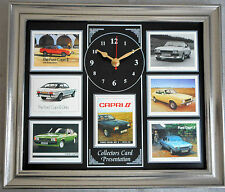 Ford Capri Mk II Stunning Collector Cards Wall Clock