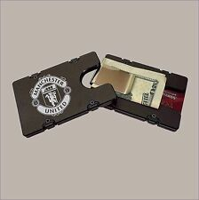 MANCHESTER UNITED F.C.  Billet Aluminum Wallet with removable Money Clip