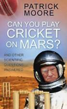 Can You Play Cricket on Mars?,GOOD Book