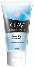 Olay Natural White Foaming Face Wash Cleanser, 50 GM Fast Shipping