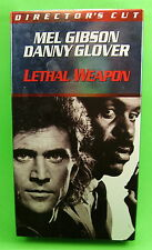 Lethal Weapon Directors Cut VHS Mel Gibson Danny Glover Gary Busey WB 1998 Movie