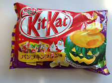 Nestle Kit Kat 2016 PUMPKIN PUDDING flavor 13P japan kitkats candy Halloween