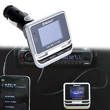 LCD Wireless Bluetooth Car Kit Handsfree FM Transmitter MP3 Player USB Remote