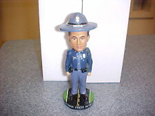 Wisconsin State Patrol Police Trooper Bobble Head New in Box