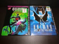 BATMAN BEYOND: Tech Wars & Disappearing Inque w/BATMAN: MASK OF PHANTASM-2DVDs