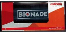"""Märklin h0 (1:87) My World 44198 carri merci Carro di raffreddamento dB """"bionade"""" NUOVO IN SCATOLA ORIGINALE"""