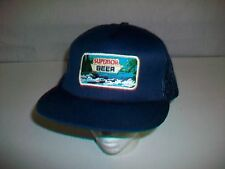 Vintage Rare Snapback Hat Cap with SUPERIOR BEER Patch One Size