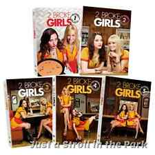 Two 2 Broke Girls Complete TV Series Seasons 1 2 3 4 5 Box / DVD Set(s) NEW!