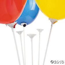 50 Globo titulares Conjuntos... Palos Y Copas.... Mantenga las Baloons Vertical...