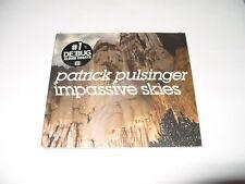 Patrick Pulsinger - Impassive Skies (2010) CD DIGIPAK -NEW -FREE FASTPOST