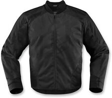 ICON OVERLORD 2 Textile Motorcycle Riding Jacket (Black) M (Medium)
