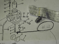 YAMAHA TY250 TRIALS BIKE 1974 1975 NEEDLE JET SETTER  OEM # 434-14145-00