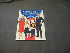 NEW PAPER DOLLS BOOK GEORGE BUSH AND HIS FAMILY ~TOM TIERNEY