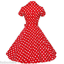 Vintage Retro Swing 50s 60s Housewife Rockabilly Pinup Evening Party dress PLUS