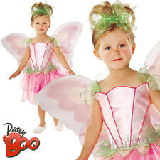 Springtime Fairy Ages 3-4 Girls Fancy Dress Fairytale Pixie Kids Childs Costume