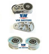GENUINE VM TENSIONER & 2 X  IDLER PULLEY JEEP GRAND CHEROKEE 3.1 TD 1999-2001