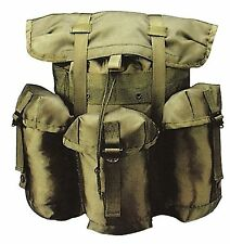Military Style Olive Drab Mini ALICE Pack Nylon Backpack Field Pack Rucksack