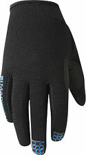 New 2016 Madison Kids Trail MTB Cycling Glove - Black/Blue- YOUTH Large