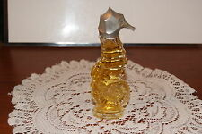 Avon 1973 Sea Horse Miniature Here'S My Heart Cologne