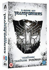Transformers 1-3 Box Set [DVD] 3 Movies. Uk Region 2. Freepost In Uk. New Sealed