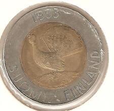 Finlandia 10 Marchi 1993  bimetallico perfetto