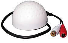 Golf Microphone High Sensitive CCTV Camera Sound Audio Pickup Monitor Device