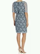BNWT��COAST�� Size 6 MIA LACE PALE BLUE Fitted, Body-con DRESS