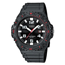 Casio Men's Solar Analogue Day And Date Watch, Black, MRW-S300H-8BVDF