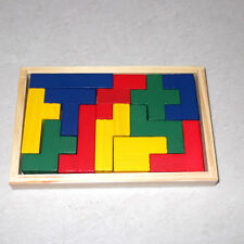 Grimm's Toys Wooden Puzzle Pentomino 3D Educational Toddler Chunky C
