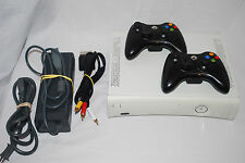 Xbox 360 ARCADE Console, 2 Controllers,Charge Kit, 256MB Bundle Lot