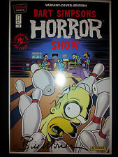 BART SIMPSONS HORROR SHOW # 17 VARIANT **signiert** MORRISON -COMIC ACTION 20013