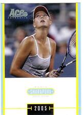 2005 ACE JAPAN HOLIDAY MARIA SHARAPOVA RC #MS-17 ROOKIE SPECIAL EDITION