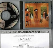 PENGUIN CAFE ORCHESTRA Signs Of Life JAPAN CD 32VD-1093 w/Insert BLACK TRIANGLE