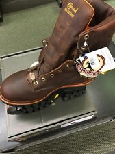 "Men's Chippewa 25420 9"" Briar Oiled Logger 13 E Insulated Waterproof Steel"