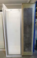 Fibreglass Shower With Framed Screen SH12-Med Toilet/Shower Cubicle
