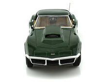 1:18 Ertl American Muscle Chevy Green 1969 Corvette Motion Performance AMM1010