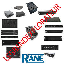 Ultimate RANE Audio Owner Repair Service Schematics Manuals  435 manual s on DVD