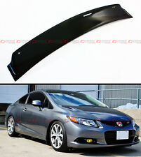 HIC 2012-2015 9TH GEN CIVIC 2DR FG3 FG4 JDM SMOKE REAR ROOF AERO WINDOW VISOR
