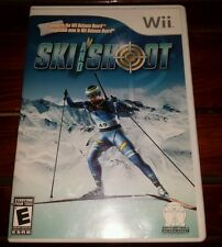 Ski and Shoot (Nintendo Wii, 2008) *COMPLETE* SHIPS FREE Mon-Sat!