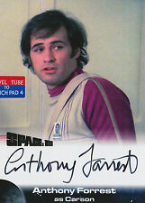 Space 1999 Autograph Trading Card AF1 Anthony Forrest as Carson