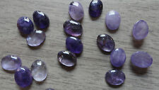 Cabochon Gemstone Amethyst Medium Purple 6x8mm (pkg 20)