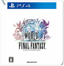 PS4 World of Final Fantasy ENG / 最終幻想世界 中文版 SONY Enix RPG Games PREORDER