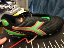 DIADORA  genovaIN SIZE 5 UK MAN MADE  LEATHER AT £17  /BLACKmulti