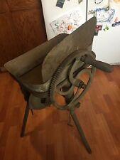 CANEDY OTTO BLACKSMITH FORGE & EMPIRE FORGE CHEST - VINTAGE - CAST IRON - ARMY