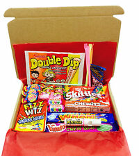 VEGETARIAN Retro Sweet Gift Box - Present - Hamper – Sweets - Retro – Candy