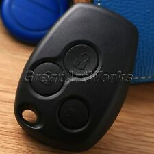 Replacement 3 Button Remote Key Fob Shell Case For Renault Clio MK3 Kangoo Modus