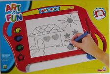 Art & Fun * Magische Zeichentafel * Malen/Kreativität * Rot * Simba * Neu * OVP