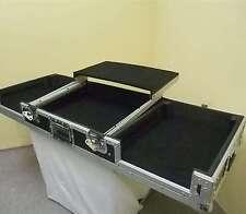 """Konsole Road LS-1 für 2 CD-Player u. 1x 19"""" MIXER m. Laptopablage DJ-Workstation"""